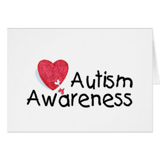 Autism Awareness Month (Puzzle) Card