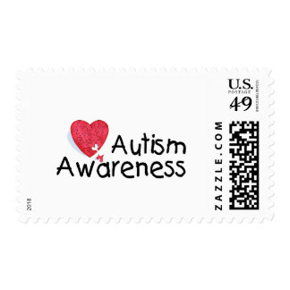 Autism Awareness Month (Puzzle) Postage
