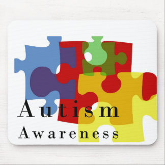 Autism Awareness Mouse Pad