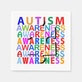 Autism Awareness Napkin