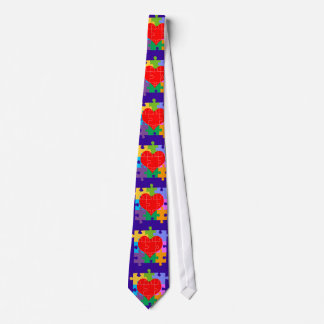 Autism Awareness Neck Tie