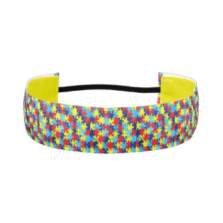 Autism Awareness Athletic Headbands