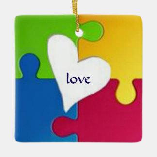 Autism Awareness Ornament