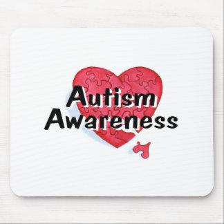 Autism Awareness (P Hrt 1) Mouse Pad