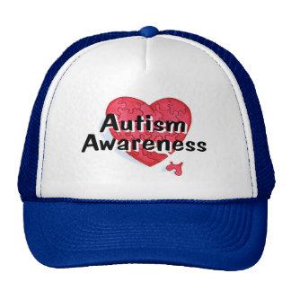 Autism Awareness (P Hrt 1) Trucker Hat
