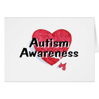 Autism Awareness (P Hrt) Card