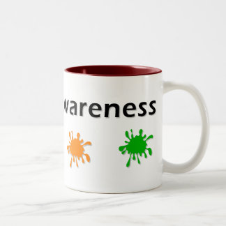 Autism  Awareness Paint Mug