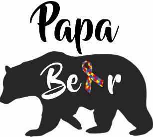 65a25194 Autism Awareness Bear Clothing   Zazzle