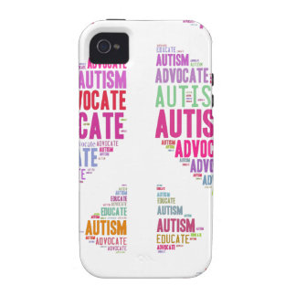 Autism Awareness Peach Products Case-Mate iPhone 4 Case