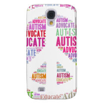 Autism Awareness Peach Products Galaxy S4 Case