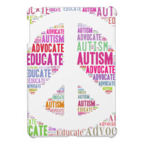 Autism Awareness Peach Products iPad Mini Case