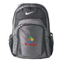 Autism Awareness Personalized Backpack