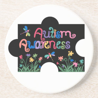 Autism Awareness Piece Coasters