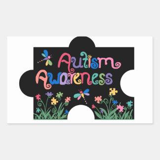 Autism Awareness Piece stickers