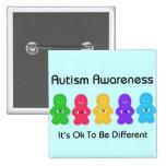 Autism Awareness Pinback Buttons