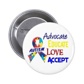 Autism Awareness Button/Pins