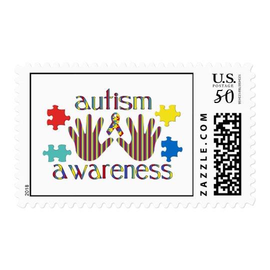 autism awareness postage
