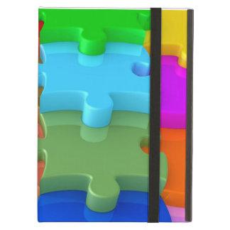 Autism Awareness Powis iPad Case 3D Puzzle