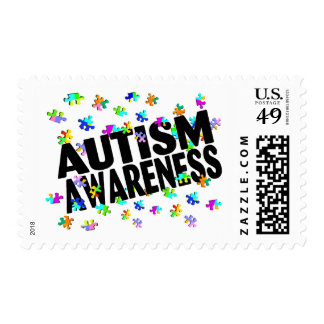 Autism Awareness (PP) Postage Stamp