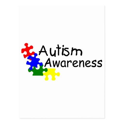Autism Awareness (PP) Postcard