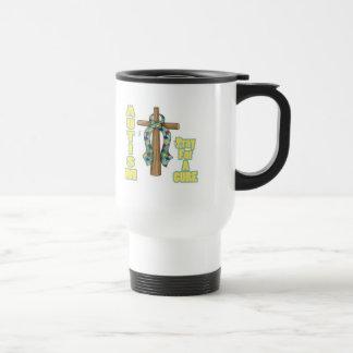Autism Awareness-Pray for a Cure Mug