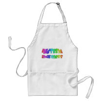 Autism Awareness Products! Colorful design! Adult Apron