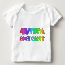 Autism Awareness Products! Colorful design! Baby T-Shirt