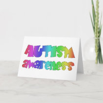 Autism Awareness Products! Colorful design! Card