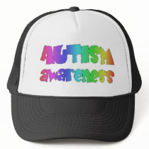 Autism Awareness Products! Colorful design! Trucker Hat