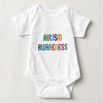 Autism Awareness Products & Designs! Baby Bodysuit