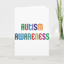 Autism Awareness Products & Designs! Card