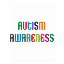 Autism Awareness Products & Designs! Postcard
