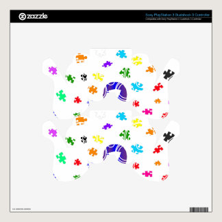 Autism Awareness PS3 Controller Skins