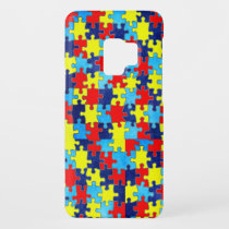 Autism Awareness-Puzzle by Shirley Taylor Case-Mate Samsung Galaxy S9 Case