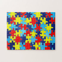 Autism Awareness-Puzzle by Shirley Taylor Jigsaw Puzzle