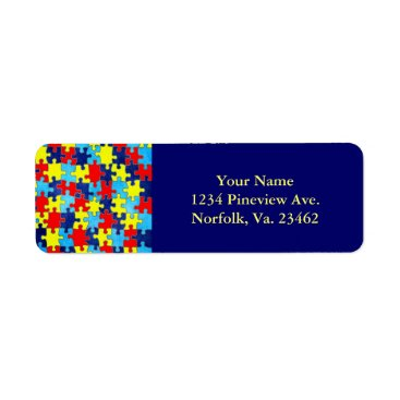 shirleytaylor Autism Awareness-Puzzle by Shirley Taylor Label