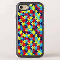 Autism Awareness-Puzzle by Shirley Taylor OtterBox Symmetry iPhone 8/7 Case