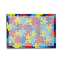Autism Awareness-Puzzle by Shirley Taylor Post-it Notes
