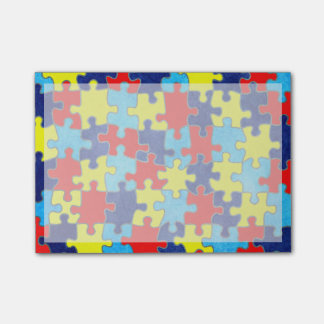 Autism Awareness-Puzzle by Shirley Taylor Post-it® Notes