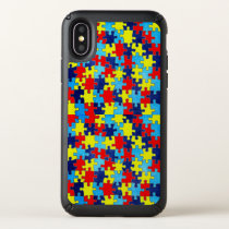 Autism Awareness-Puzzle by Shirley Taylor Speck iPhone X Case