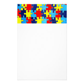 Autism Awareness-Puzzle by Shirley Taylor Stationery