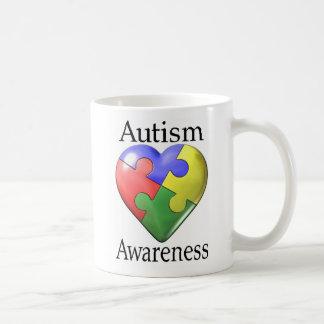 Autism Awareness Puzzle Heart Coffee Mug