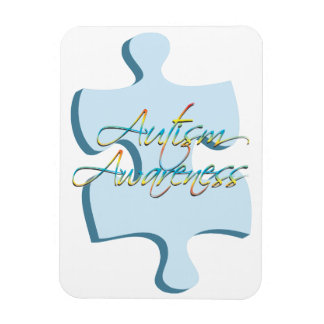 Autism Awareness Puzzle Piece Flexible Magnet