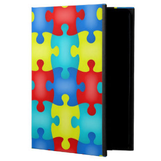 Autism Awareness Puzzle Piece iPad Air Stand iPad Air Cover