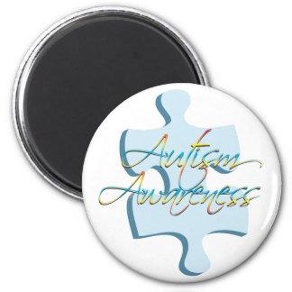 Autism Awareness Puzzle Piece Magnet