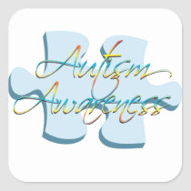 Autism Awareness Puzzle Piece Sticker