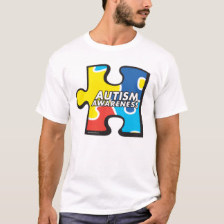 Autism Awareness Puzzle Piece T-shirt