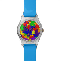 Autism Awareness Puzzle Piece Watch