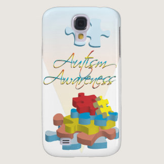 Autism Awareness Puzzle Pieces  Galaxy S4 Case
