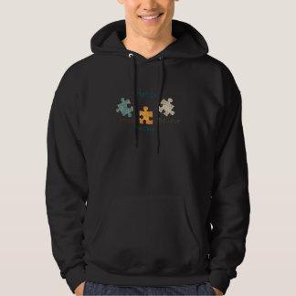 Autism Awareness Puzzle Pieces Hooded Sweatshirt